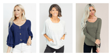 Cents of Style Layer Tops
