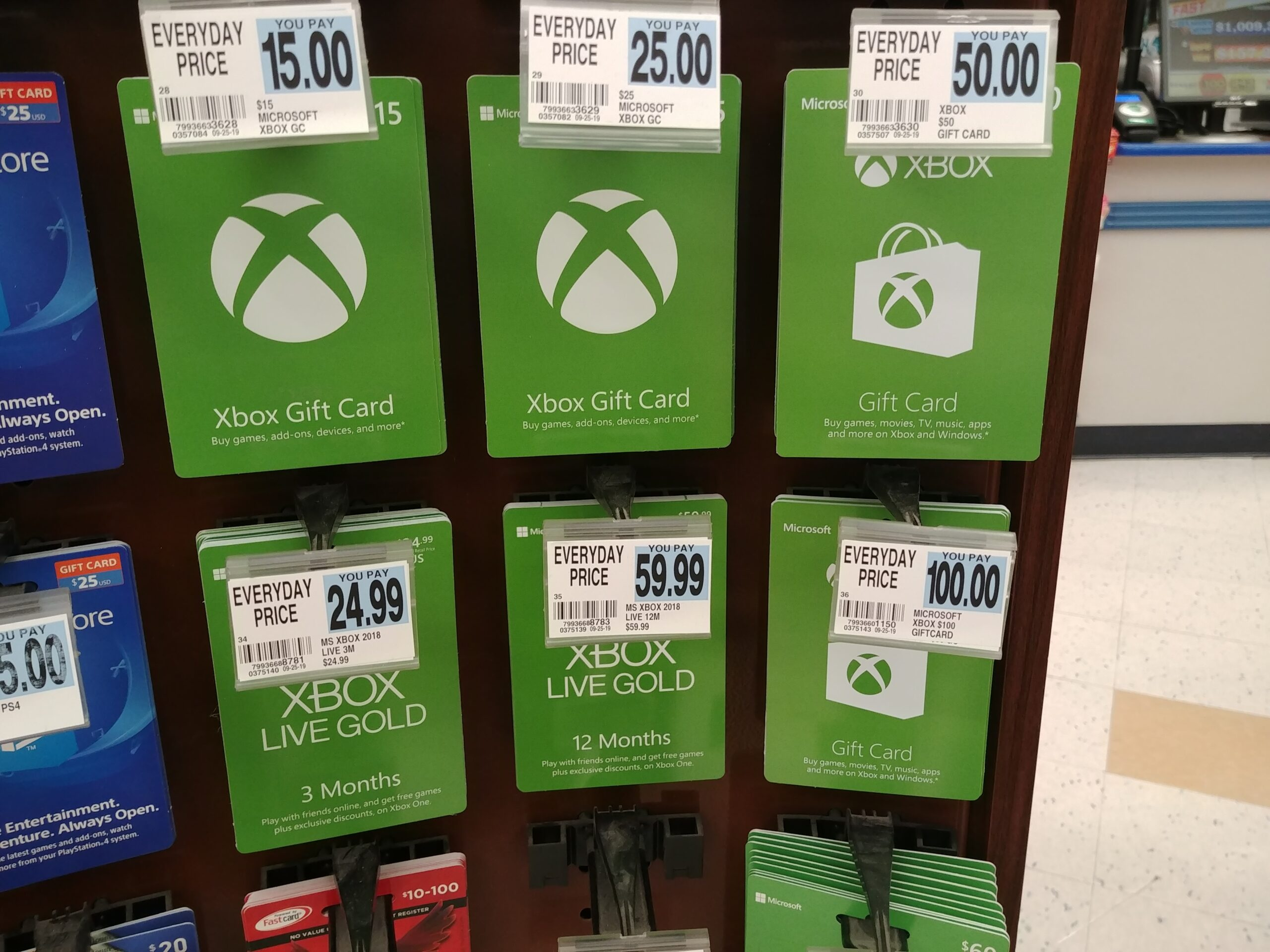 Xbox-gift-cards-at-rite-aid