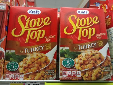 Stove Top Stuffing at Shoprite