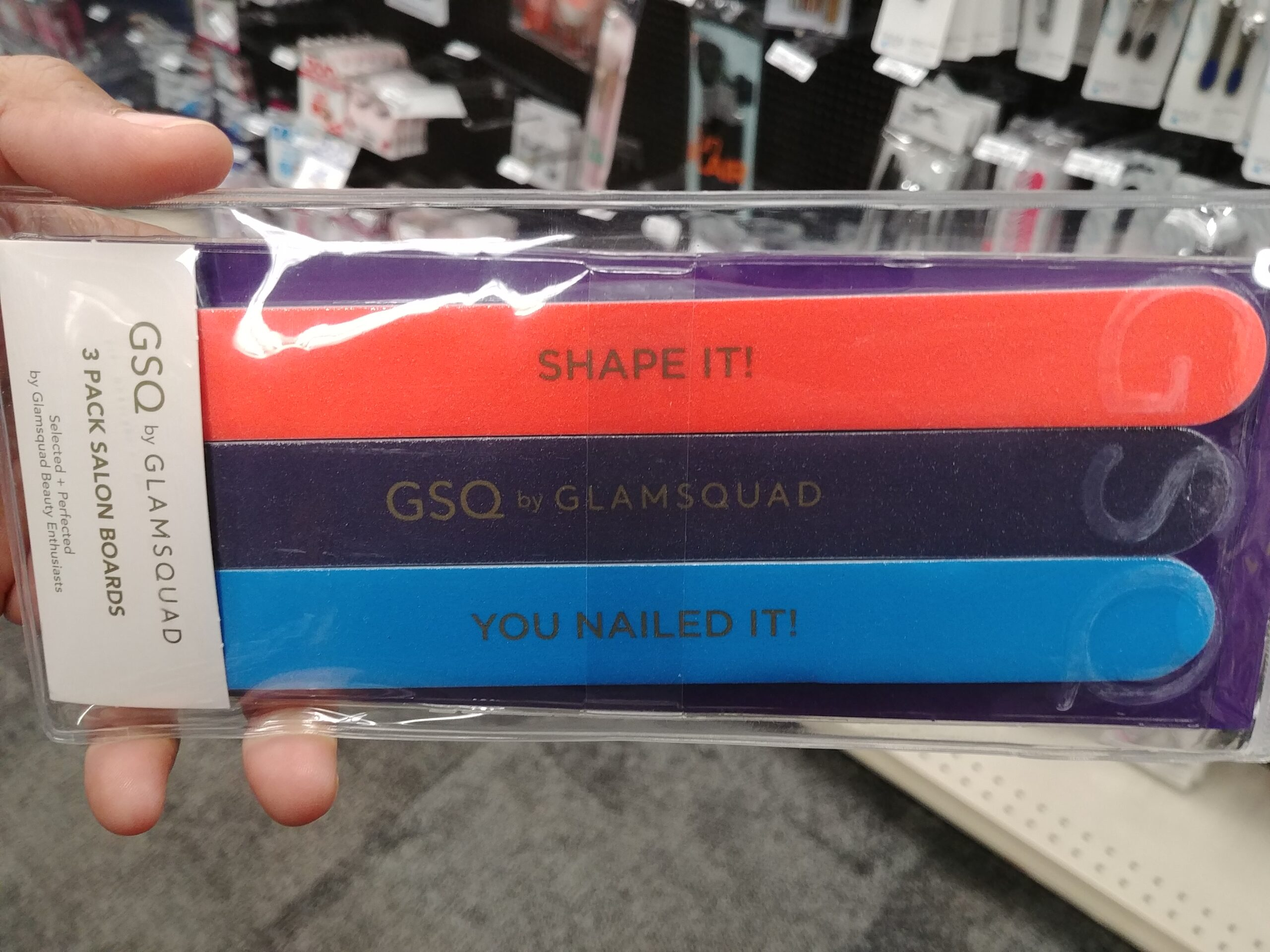 GSQ Nail Files at CVS