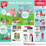Walgreens Ad: March 29 – April 4, 2020