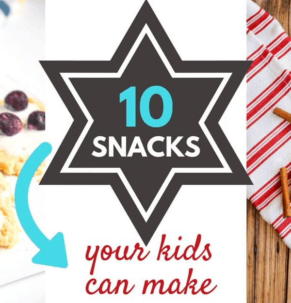 10 Healthy Snacks that Kids can Make
