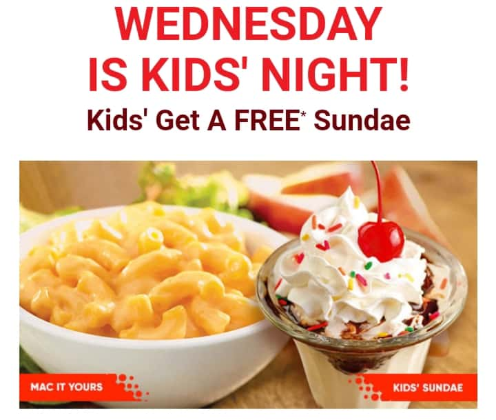 Red Robin Kids Meal
