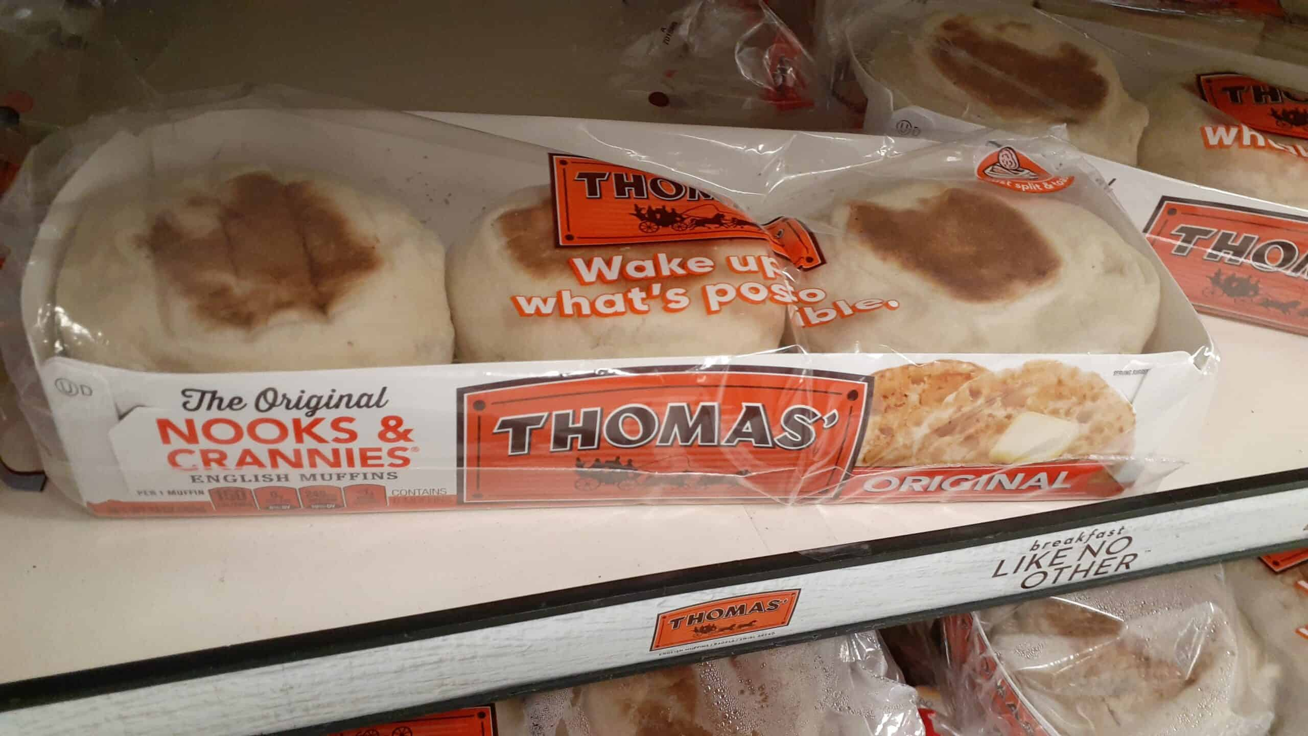 Thomas' English Muffins at Shoprite