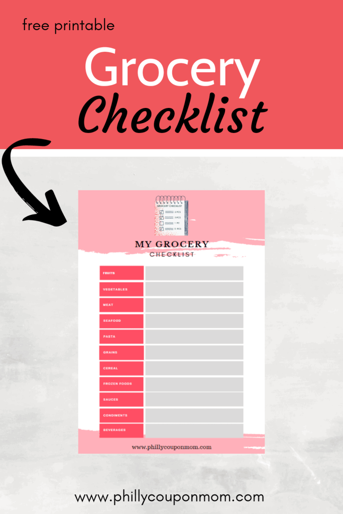 Grocery Checklist image