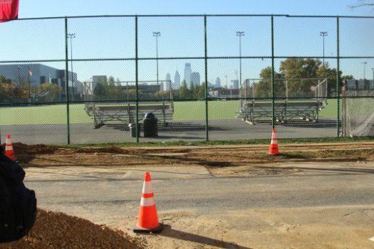 Geasey Field, as seen from Freddie Bolden's front stoop.