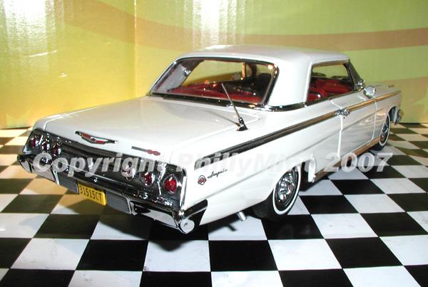 PhillyMint Diecast  West Coast 1962 Chevrolet Impala SS