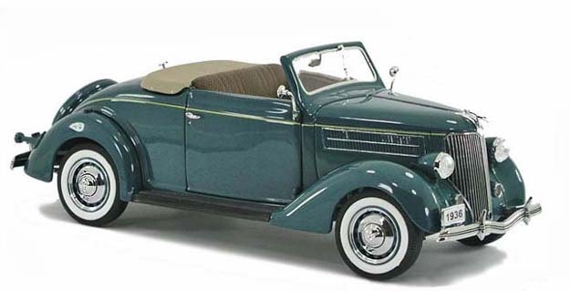 PhillyMint Diecast  Danbury Mint 1936 Ford Deluxe