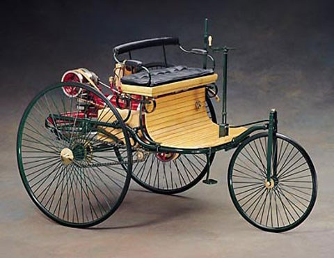 Image result for karl benz first car