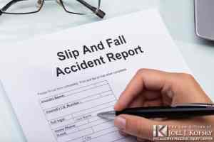 Slip and Fall Accident Report