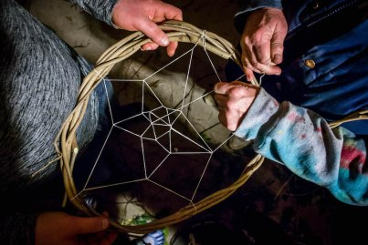 Making Dreamcatchers at Skillshare