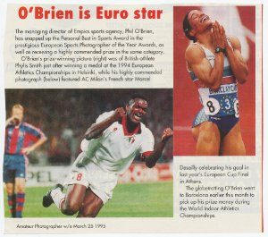European Sports Picture Award