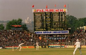 South Africa play against India in Gwalior