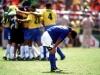 Baggio despair after defeat in World Cup Final in LA 1994