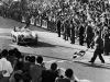 Stirling Moss wins the Mille Miglia in Italy 1955