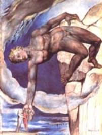 Antée dépose Dante et Virgile au fond du 9ème cercle
