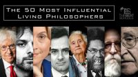 50 most influential philosophers.