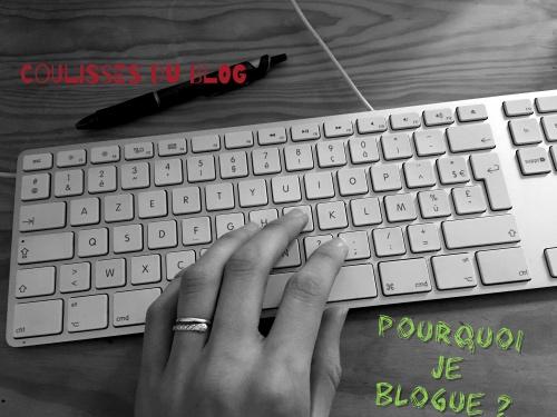 pourquoi je blogue