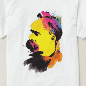 Colorful Nietzsche Portrait