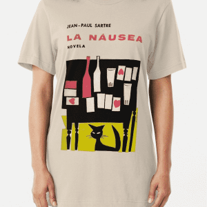 Nausea Cover - Sartre Shirt