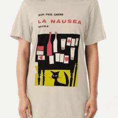 Nausea Cover - Sartre Shirt