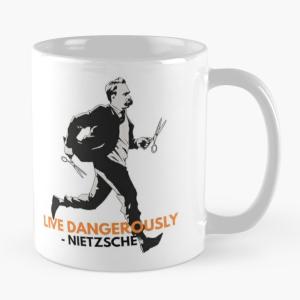 Live Dangerously - Nietzsche Mug