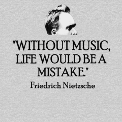 Life Without Music - Nietzsche Quote