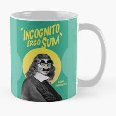 Incognito Ergo Sum - Descartes Mug