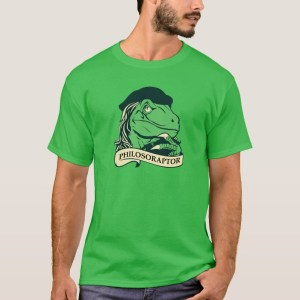 Philosoraptor Philosophy T-Shirt