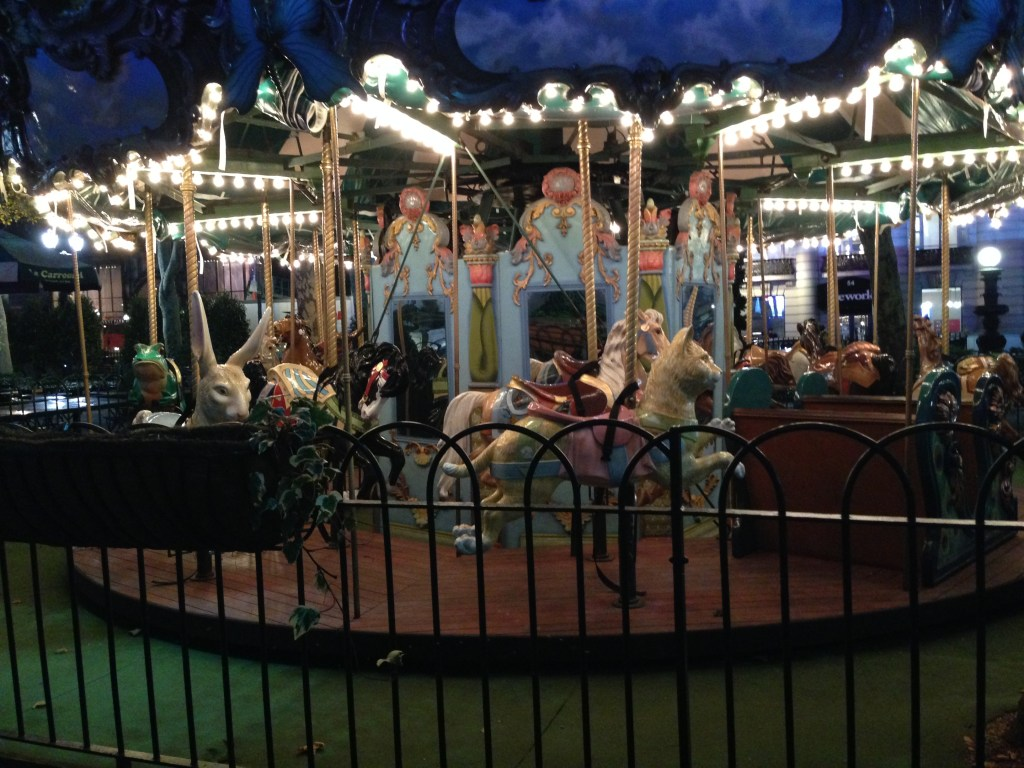 The Carousel in Bryant Park