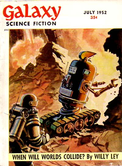 Galaxy Science Fiction, July 1952