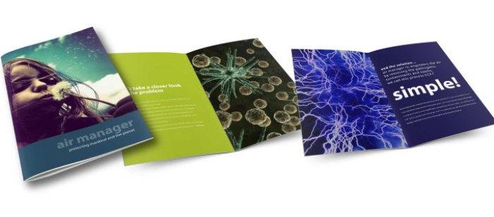 Air-Manager brochure design