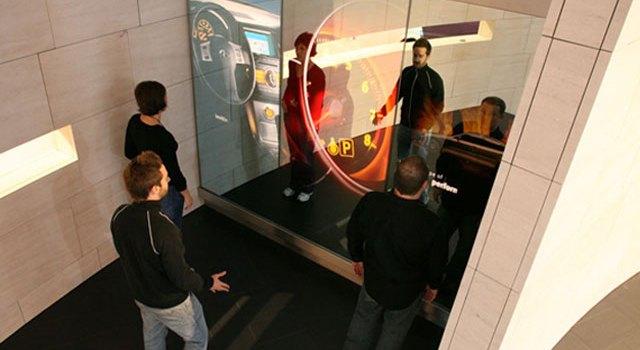 Infiniti Interactive Mirror