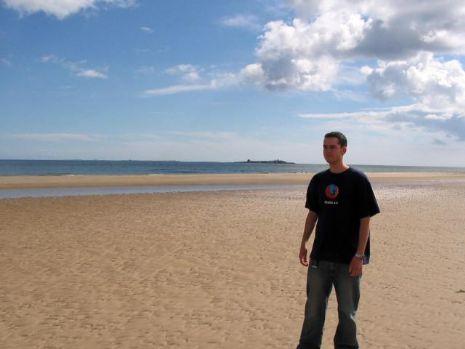 Me on a beach!