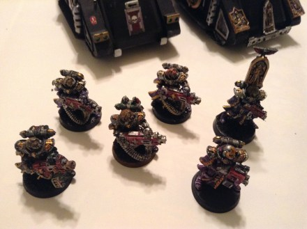 Heavy bolter Retributioners.