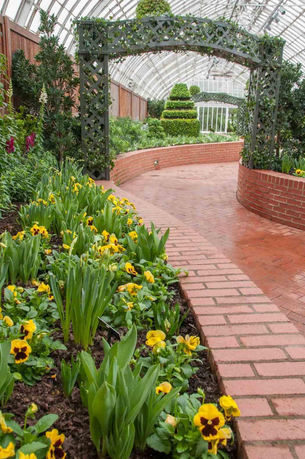 Spring Flower Show 2013 The Secret Garden  Phipps