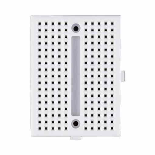 PHI1061397 – SYB-170 White Mini Solderless Prototype Breadboard with 170 Tie Points – Pack of 3 03