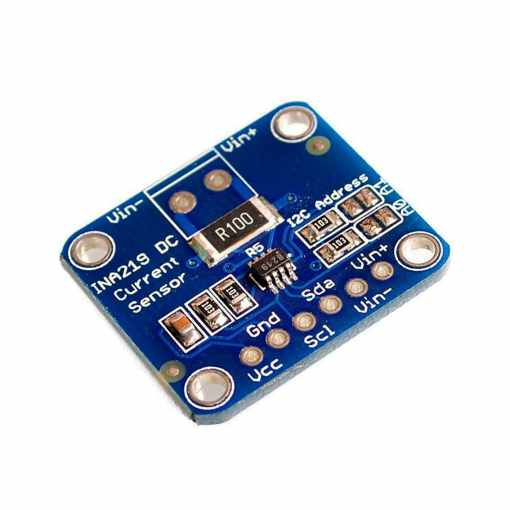 INA219 High Side DC Current and Voltage Sensor Breakout – MCU-219