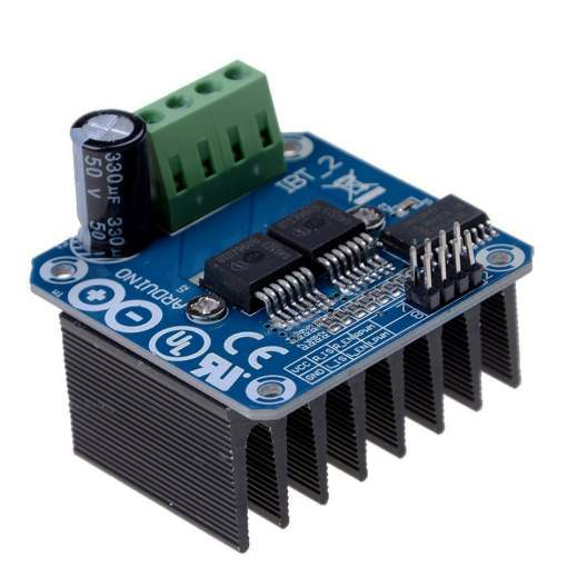 BTS7960 43A Double DC Stepper Motor Driver H-Bridge PWM
