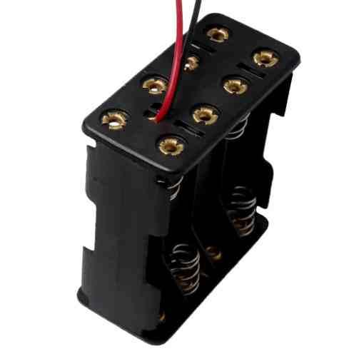 8 x AAA Battery Holder Box