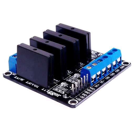 5V 4 Channel 240V SSR Low Level Solid State Relay
