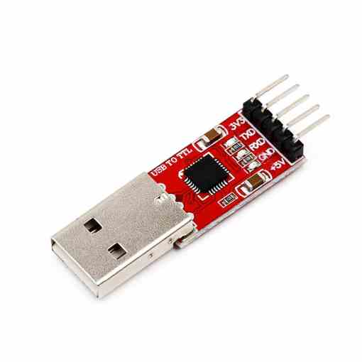 PHI1071822 – CP2102 USB to TTL UART Serial Converter Module with Jumper Wires 04