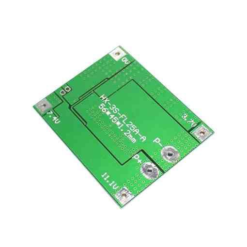 PHI1071823 – HX-3S-FL25A Li-ion 18650 Battery Protection BMS Board – 3S 25A 03