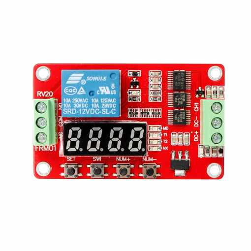PHI1072018 – 12V Programmable Multifunction Digital Relay Module – FRM01 02