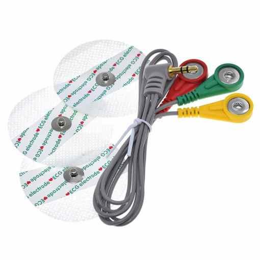 PHI1072023 – AD8232 ECG Heart Rate Sensor Module Kit 05