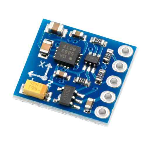 PHI1072028 – HMC5883L Triple-Axis Magnetometer Compass Module – GY-271 02