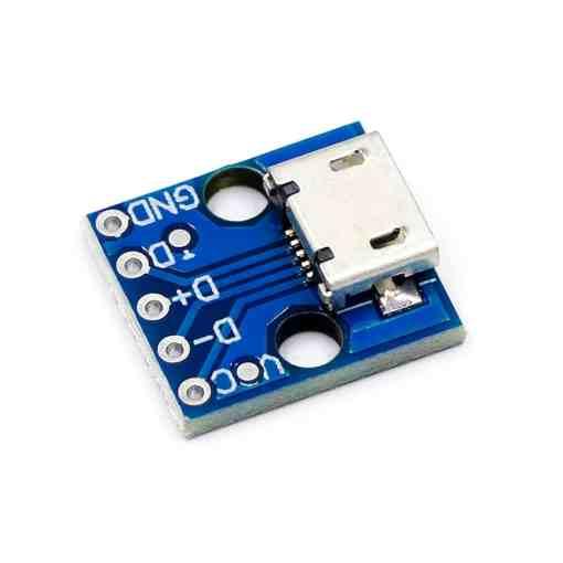 PHI1072200 – CJMCU 5V Micro USB Power Adapter Breakout Board 02