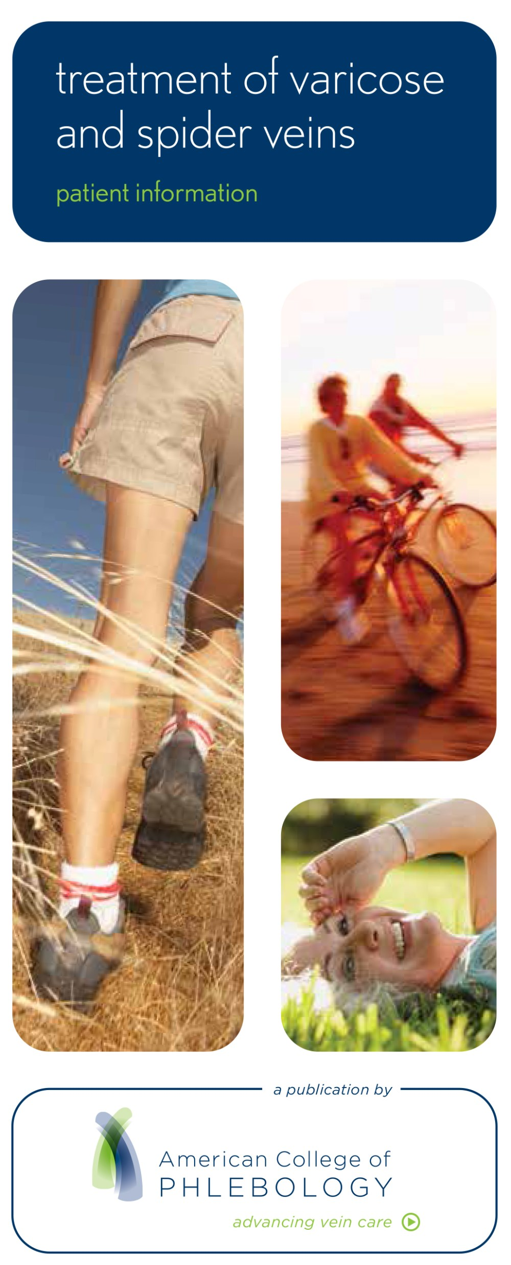 medium resolution of patient education brochure treatment of varicose and spider veins in english spanish
