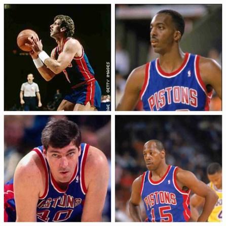 Detroit Pistons Tradees