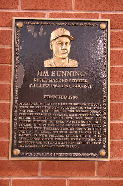 Hall of Fame Phillies Pitcher, Jim Bunning Passes Away